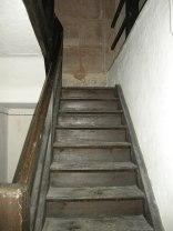 Treppenaufgang im Spittlertorturm.