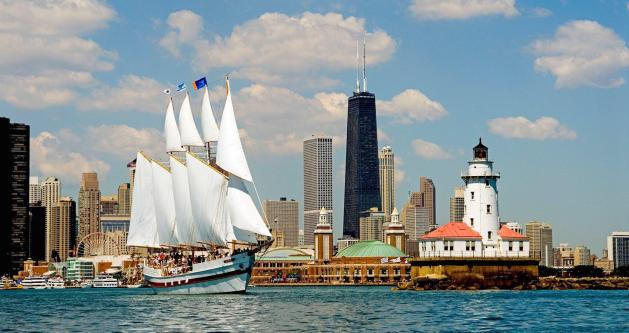 skyline sail tall ship