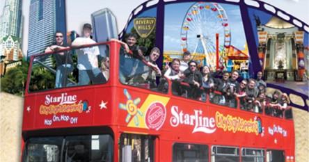 Hop On Hop Off Double Decker City Tour 72 Hours Starline Tour