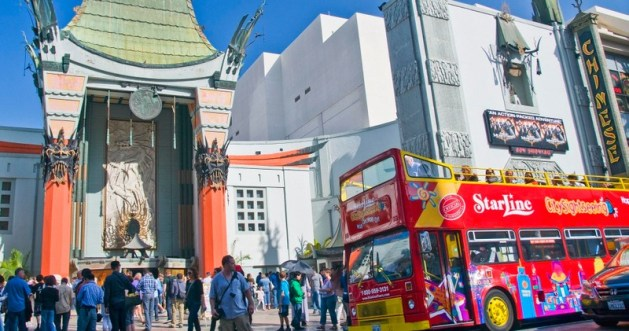 Hop On Hop Off Bus Hollywood Red Loop Only Starline Tours