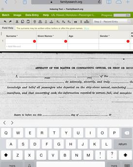 El nuevo programa de indexación en una tableta
