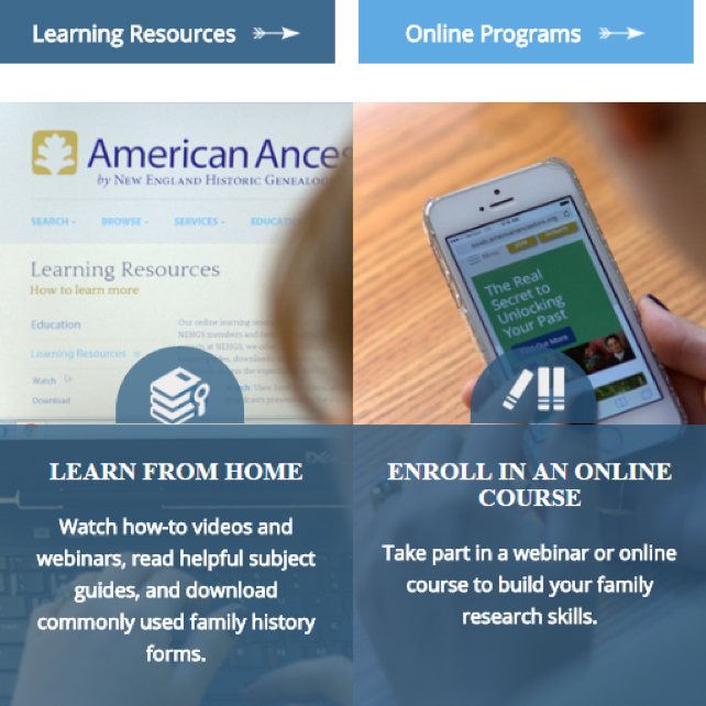 Learn how to use AmericanAncestors using your free LDS account.