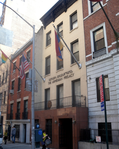 the Armenian prelacy in New York