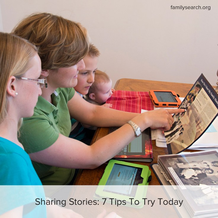 Seven tips to share and preserve your family story today.