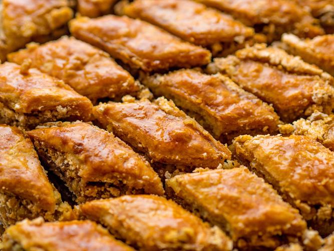 Baklava, an armenian dessert