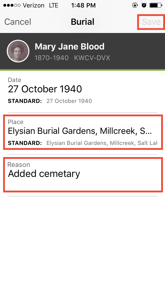 Learn how you can map your ancestors on the FamilySearch Tree app.