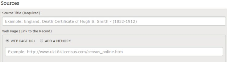 Attach sources to your tree on FindMyPast using your free LDS account.