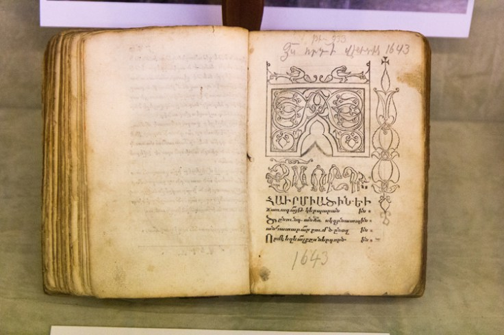 A book written in armenian