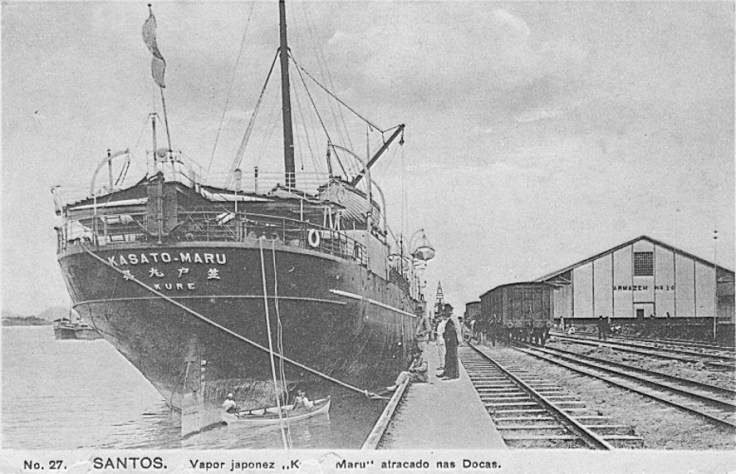 a boat that transported immigrants from japan.