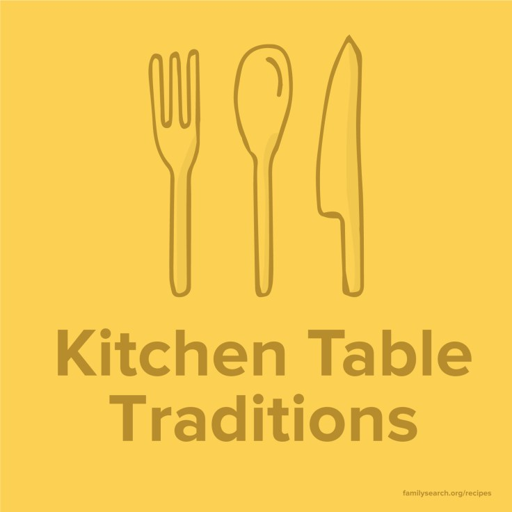 How to start family food traditions from scratch