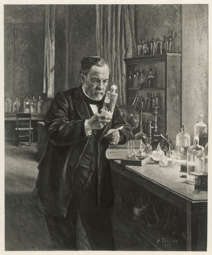 Louis Pasteur, a french scientist