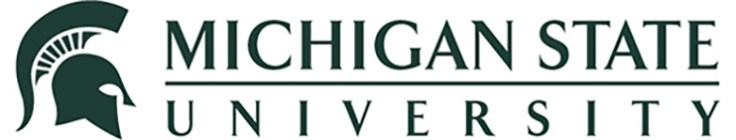 the logo for MSU