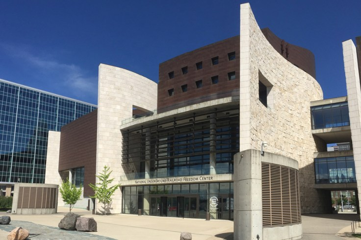 National Underground Railroad Freedom Center, a museum about African American heritage and history