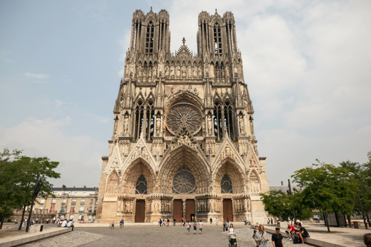 Notre-Dame de Reims, the Reims Cathedral.