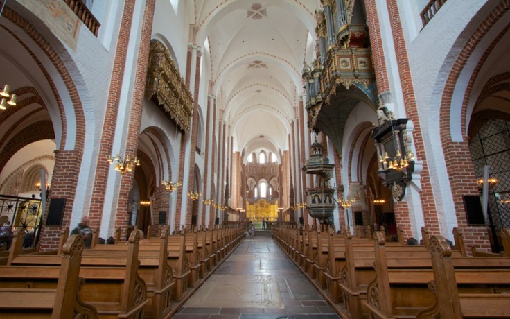 Roskilde Cathedral interior