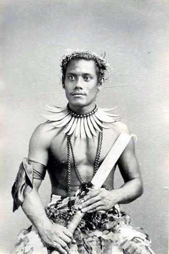 Samoan warrior