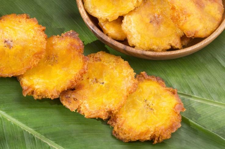 tostones, a puerto rican finger food