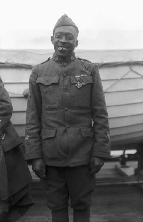 African American soldiers served bravely despite descrimination against them in World War I.