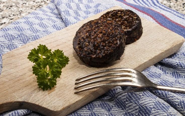 english dish black pudding