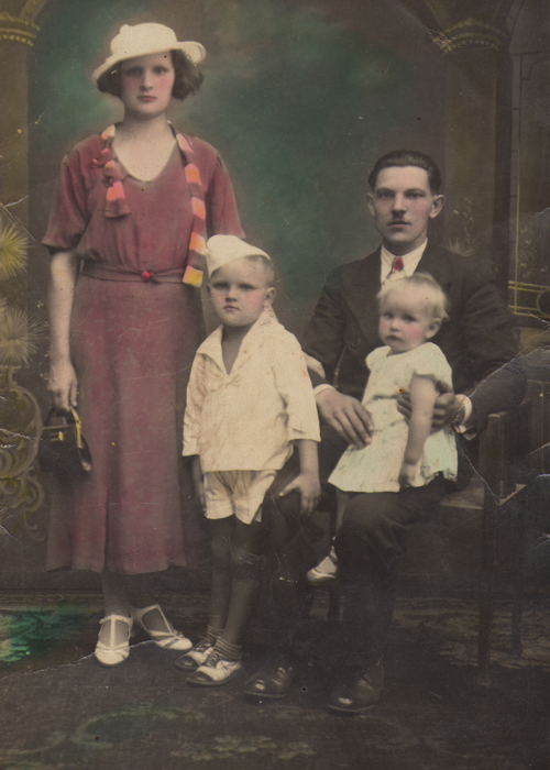 An old family portrait from Brazil.
