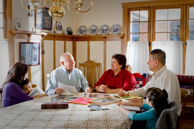 United States Census data, Families in U.S. Census