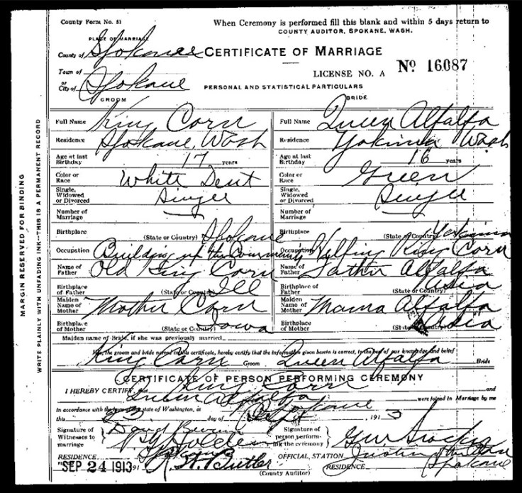 The marriage certificate between corn and alfalfa.