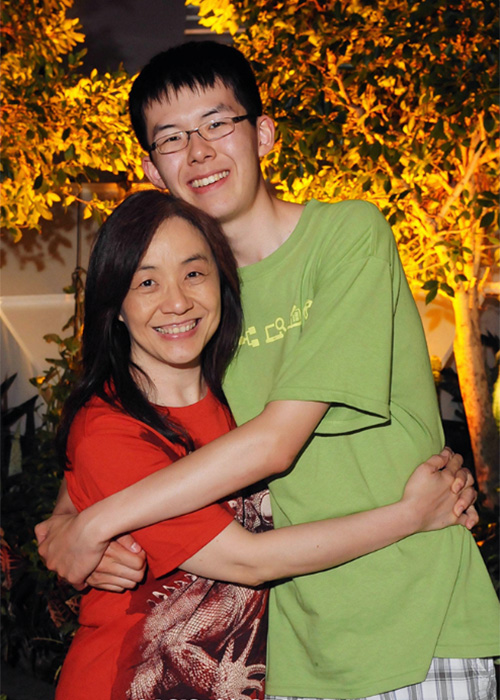 Christine Chiang takes her son to China to meet their Chinese relatives.