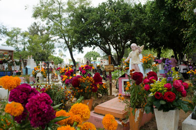 """Dia de los Muertos, or """"Day of the Dead,"""" is a day to celebrate and remember family members and loved ones who have died."""