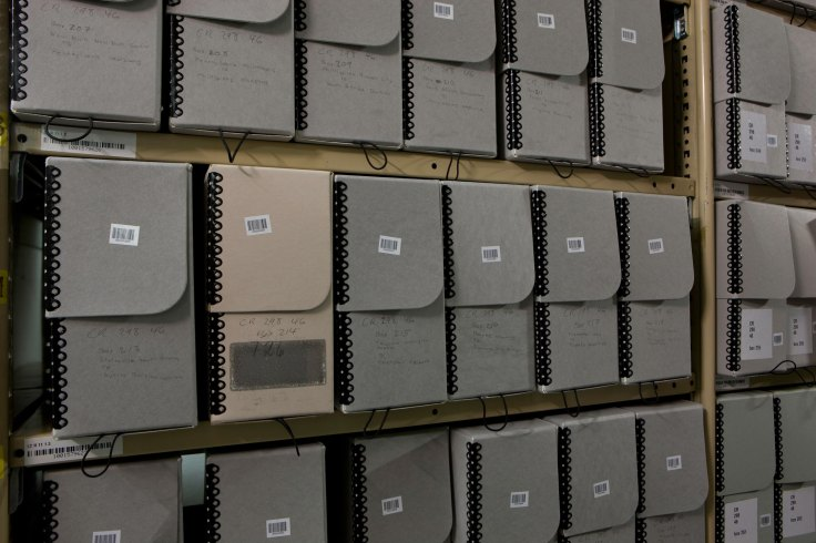 storing old family documents