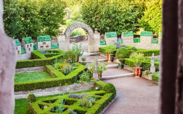 Ecomusée d'Alsace, Ungersheim, France - Gardens
