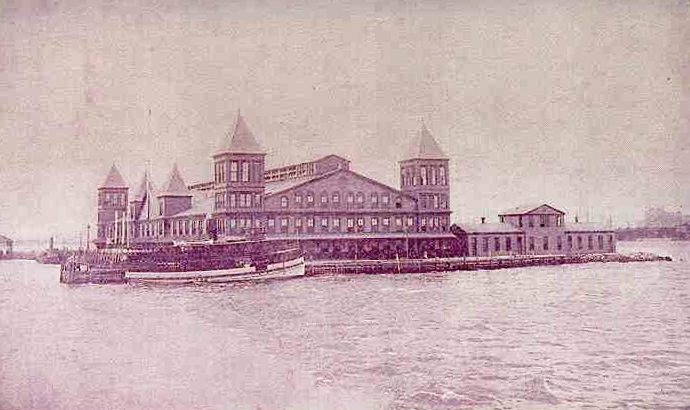 The first Ellis Island Immigration Station only lasted 5 years before burning down.