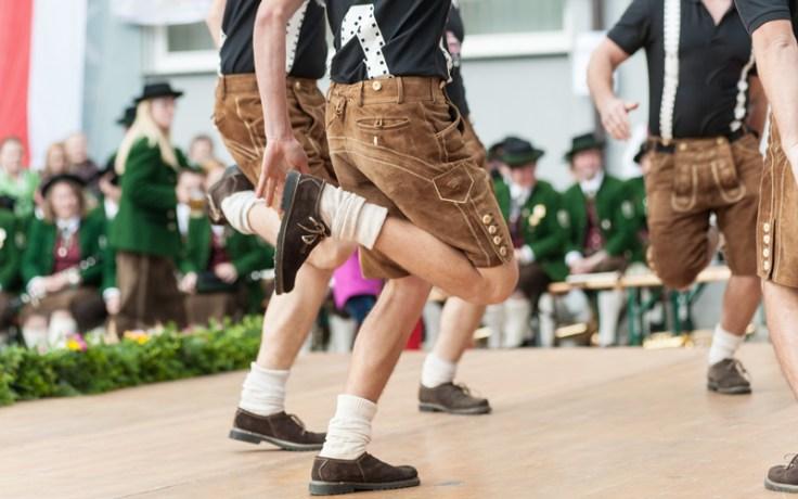 IMage of German dancers