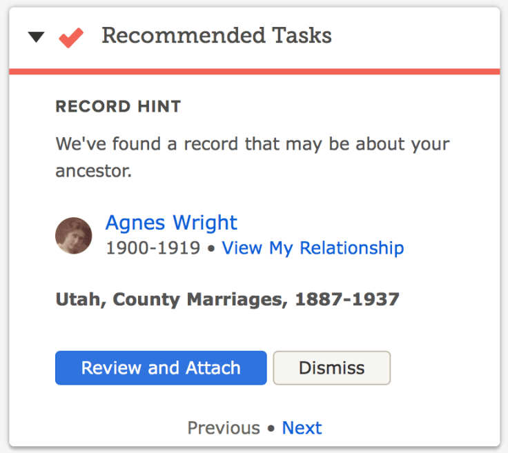 Where to find hints on FamilySearch and how to use them