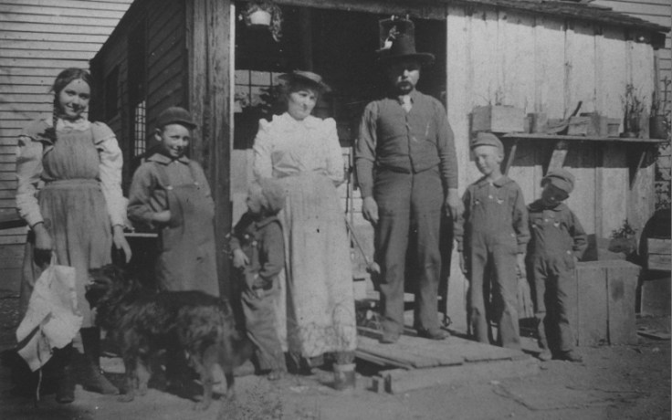 a family counted in the irish census.