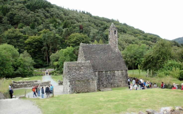 a historic irish building.