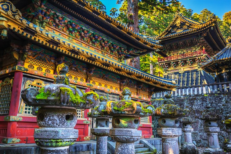 a temple in Japan.