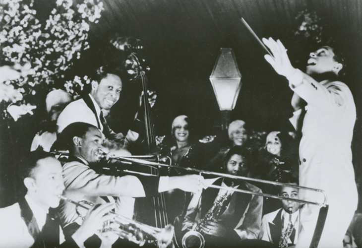 jazz band from the 1920s