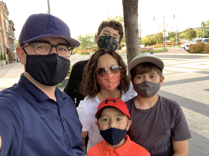 Jen allen with her family