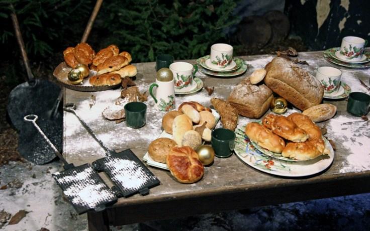 Kommern Open Air Museum, Kommern, Germany - Food on a table