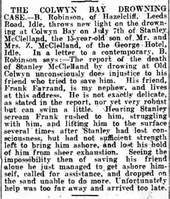 A story found in the British Newspaper Archives.