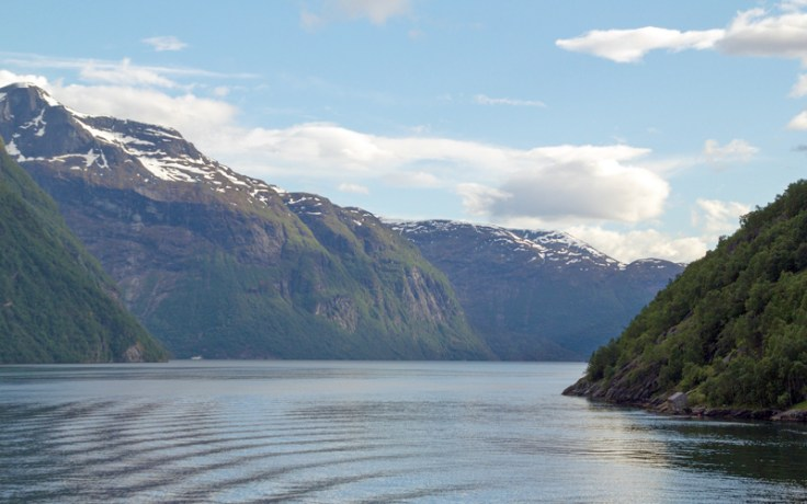 The landscape of Norway