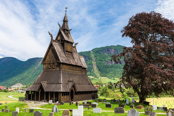 Wooden stave churches in Norway
