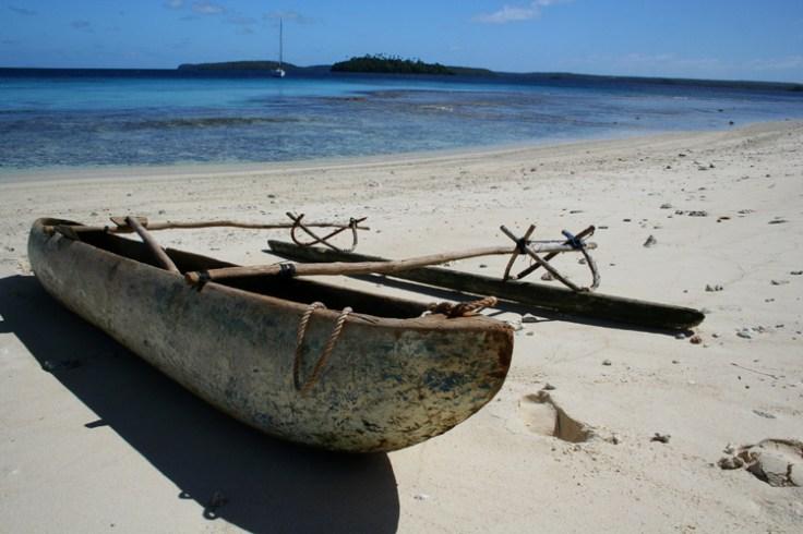 a voyaging canoe like Moana's.