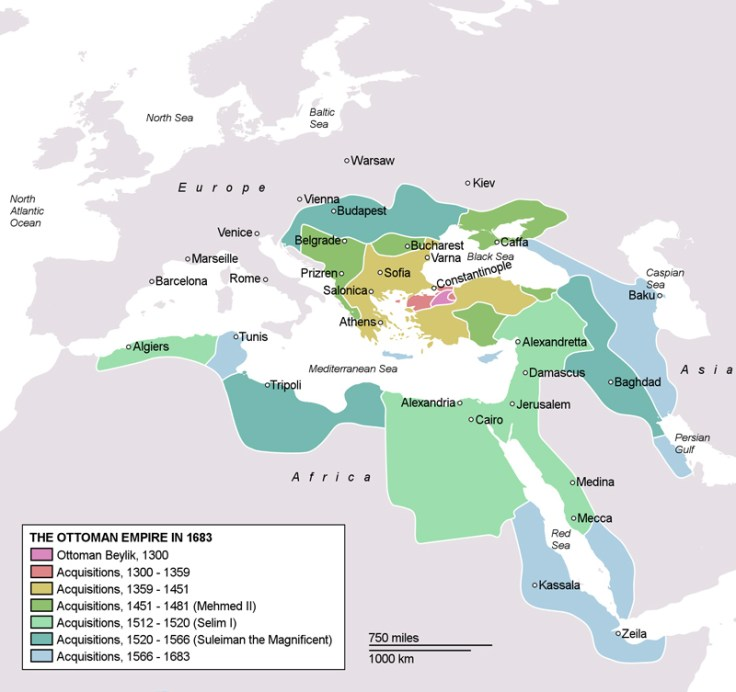 the ottoman empire through the ages.
