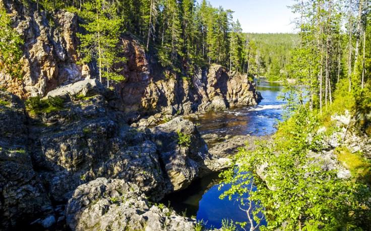 Oulanka National Park. River