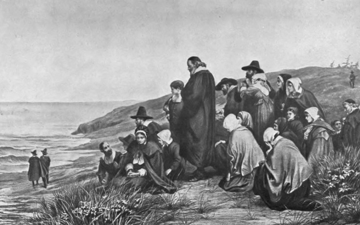 pilgrims in plymouth