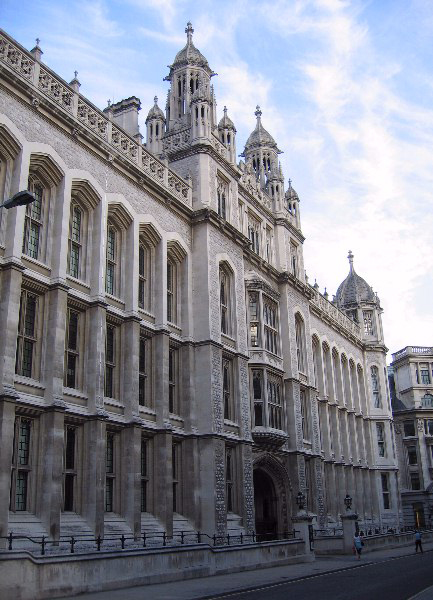 The public records office in London