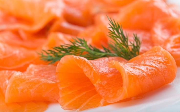 Norwegian salmon and dill