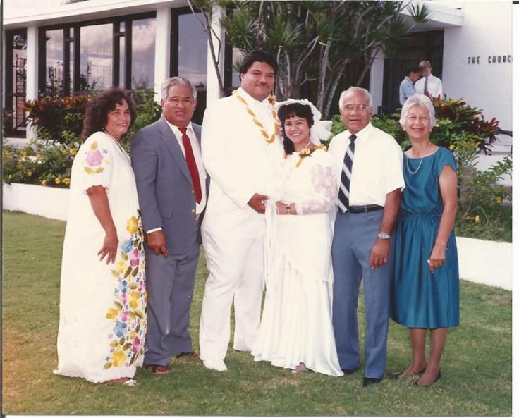 Samoan wedding. At the heart of fa'a samoa is family.
