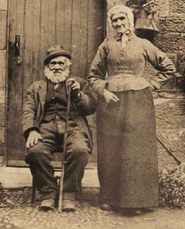 a scottish couple.